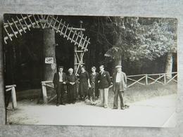 CARTE PHOTO FORET DE BELLEME   LA HERSE - France