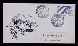 2nd Nat. Acamp Scouting Scoutisme Portugal Bombarral 1978 Scouts (pmk 1R-cover) Gc3639 - Scoutisme