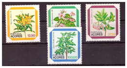 AZZORRE - 1983 - FLORA LOCALE. TERZA SERIE. SERIE COMPLETA. - MNH** - Azores