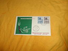 ENVELOPPE UNIQUEMENT DE 1957. / 1ER JOUR D'EMISSION. EUROPA../ CACHETS MUSEE DE L'ARMEE BRUXELLES + TIMBRES.. - FDC