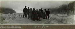 Chamonix En 1912 Photo Sur Carton 17cm X 6 Cm - France