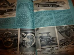1958 MÉCANIQUE POPULAIRE: Les Automobiles Américaines;Capture Des Cerfs Avec Fléchettes;L'or De L'Afrique;etc - Voitures