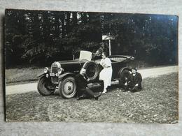 CARTE PHOTO BELLEME   AUTOMOBILE VOITURE ANCIENNE - France