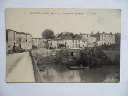 (Maine Et Loire - 49)  -  MONTFAUCON  -  Un Coin Sur La Moine - Montfaucon