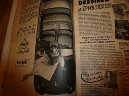 1958 MÉCANIQUE POPULAIRE: Un Dentiste-sculpteur;Hermann Geiger Pilote Des Glaciers Suisses;Soignez Vos Arbres;etc - Voitures