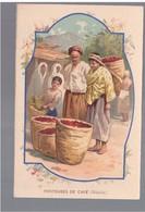 MALAYSIA Porteuses De Cafe Ca 1910 OLD POSTCARD 2 Scans - Malaysia
