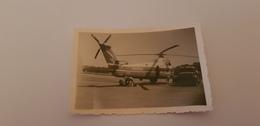 """Ancien Hélicoptère SABENA  """"été 1958 Bruxelles-Allée Verte"""" Avec Camion Carburant - Aviazione"""