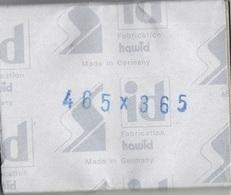 Paquet De 25 Pochettes Noires Hawid Double Soudure Format 48,5 X 38,5  à  - 50% - Bandes Cristal