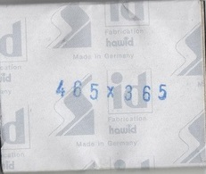 Paquet De 25 Pochettes Noires Hawid Double Soudure Format 48,5 X 36,5  à  - 50% - Bandes Cristal