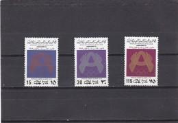 Libia Nº 692 Al 694 - Libia