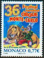 Monaco 2011 - Festival Du Cirque De Monte Carlo 2012 / Monte Carlo Circus Festival 2012 - MNH - Cirque
