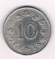10 CENTS  1972 MALTA /7360/ - Malta