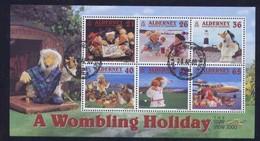 Alderney Aurigny 2000 Yvertn° Bloc 7 (o) Oblitéré  Cote 12,00 Euro Stamp Show 2000 - Alderney
