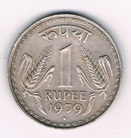 1 RUPEE  1979  INDIA /7361/ - Inde