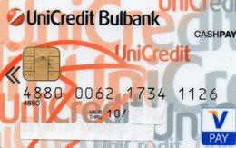 BULGARIE - CREDIT CARD - V PAY - UNICREDIT BULBANK  [#.B.004] - Cartes De Crédit (expiration Min. 10 Ans)