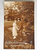 C.P.A. :  FANTAISIE : Soldat Avec Femme : Nous Sommes Faits Pour Nous Entendre, We Just Suit Each Other - Femmes