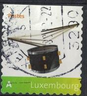 Luxembourg 2008 Oblitéré Rond Used Drum Tambour SU - Lussemburgo