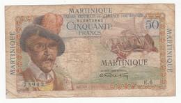 Billet 50 Francs  MARTINIQUE - BELAIN D'ESNAMBUC - Autres