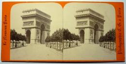 ARC DE L'ÉTOILE - PARIS - Stereoscopic