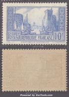 10Fr La Rochelle Type I Neuf ** Sans Charnière TB (Y&T N° 261b , Cote: 185€) - Unused Stamps