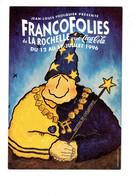 Cpm Francofolies De La Rochelle Avec Coca-cola - 1996  - Publicité Spectacle Musique DICK RIVERS JOHNNY HALLYDAY LIO - Musique Et Musiciens
