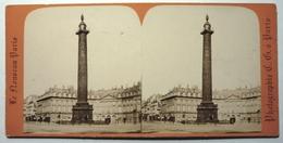 COLONNE VENDÔME - PARIS - Stereoscopic