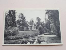 """Kasteel """" VILLERS """" - Mariaburcht / Kasteel En Vijver Opleidingscentrum Gezin ( Thill ) Anno 1962 ( Zie Foto Details ) ! - Schoten"""