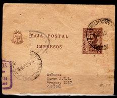 Argentina-00279 - Intero Postale (fascetta Per Stampe) Non Comune. - Argentina