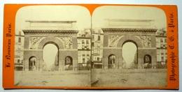 PORTE St MARTIN - PARIS - Stereoscopic