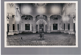 MALAYSIA Inside Of Mosque Johore 1929  OLD PHOTO POSTCARD 2 Scans - Malaysia