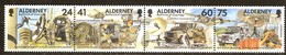 Alderney Aurigny 1996 Yvertn° 90-93 *** MNH  Cote 9,50 Euro - Alderney