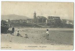 Fontarabie Vue Generale - Spain