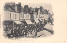 18 - CHER / Saint Amand Montrond - 182768 - Place Du Marché - Saint-Amand-Montrond