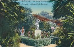 Croatia Dubrovnik, Ragusa 1910 / Vrt Poma Na Lokrumu, Palmen Park Lacroma, Palms Trees Garden / Kulisic - Croatia