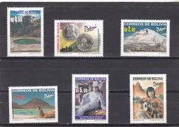Bolivia Nº 1021 Al 1026 - Bolivia