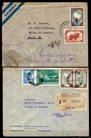 Argentina-00281 - Due Buste, Due Tariffe. - Argentina