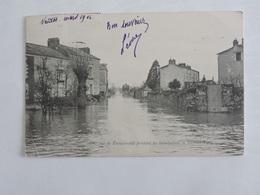 Trentemoult - Une Rue Pendant Les Inondations De Février 1904 REF 0159 - France
