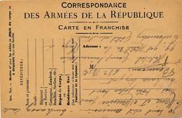 CPA - Themes - Militaria - France -  Correspondance Des Armée De La République - 1917 - Autres