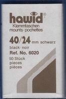 Paquet De 50 Pochettes Noires Hawid Simple Soudure Format 40 X 24 à - 50% - Mounts