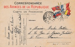CPA - Themes - Militaria - France -  Correspondance Des Armées De La République - 1914 - Autres