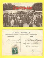 CPA 71 Montceau-les-Mines, La Place Un Jour De Marché 1909 - Montceau Les Mines