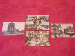 Carte Postale / Nièvre  / Département 58 / Lot De 4 Cartes - France