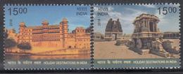 INDIA 2018  HOLIDAY Destinations In INDIA,set 2v Udaipur Palace,  Stone Chariot Hampi, - India