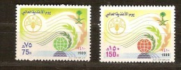 Saoedi Arabie Saoudite 1989 Yvertn° 743-44 *** MNH  Cote 3,75 Euro - Arabie Saoudite