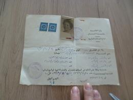 Laisser Passer? Passeport Egypte Archéologue Archéologie En Arabe - Historical Documents