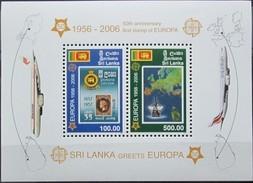 Sri Lanka 2006 Yvertn°  Bloc 94 *** MNH  Cote 14 Euro 50 Ans Europa 50 Jaar - Sri Lanka (Ceylan) (1948-...)