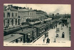 "SAINT-BRIEUC  (22) : "" LA GARE INTERIEURE "" - Saint-Brieuc"