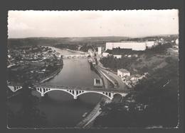 Huy - Les 2 Ponts, La Collégiale Et La Citadelle  - Carte Photo Gevaert - éd. Naturesite - Huy