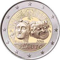 Italy 2 Euro  2016 Plauto UNC - Italy