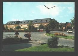 Sankt Vith / St. Vith - Die Schule / L'école - Vintage Car Citroën / Voiture - Saint-Vith - Sankt Vith